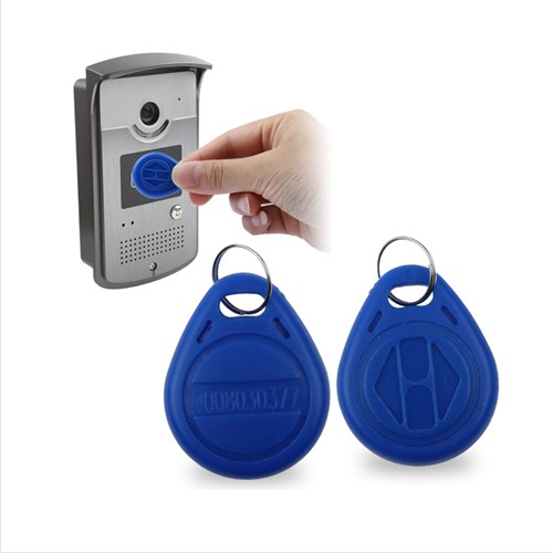 **Acceso RFID Proximity ID Card Token Keyfobs Keychain for Acce