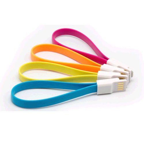 **Cable iPhone 5 6 lightning Plano IMAN 1m x1081